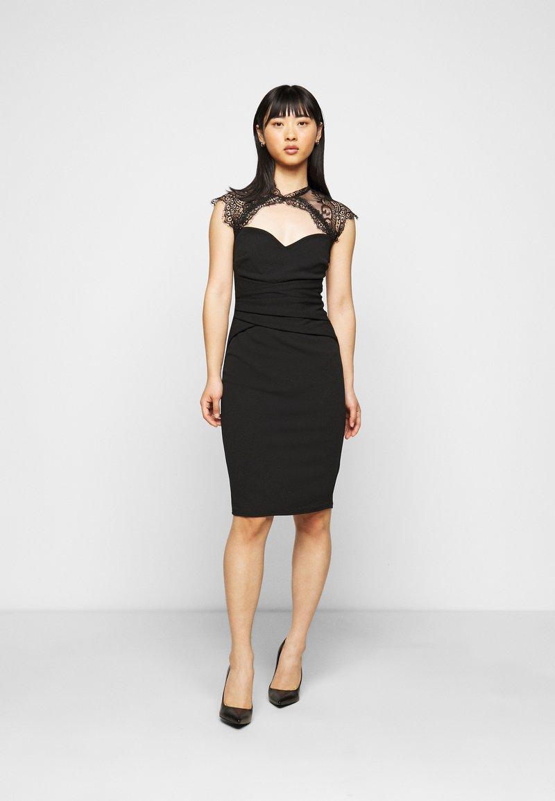 SISTA GLAM PETITE - LOTTIE - Cocktail dress / Party dress - black