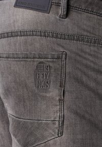 No Excess - Denim shorts - grey denim - 3