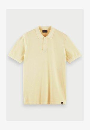 Polo shirt - flax