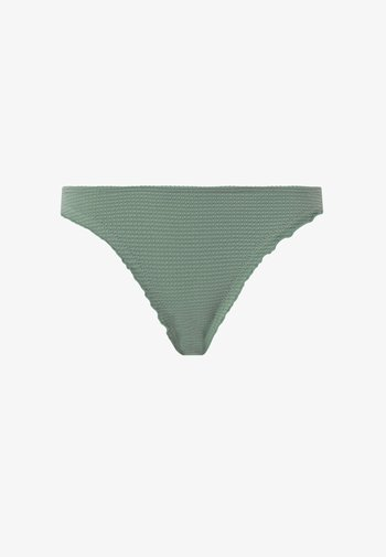 SEAMLESS CURLING BRAZILIAN  - Bikini bottoms - green