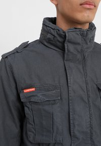 Superdry - CLASSIC ROOKIE MILITARY JACKET - Summer jacket - carbon grey - 6