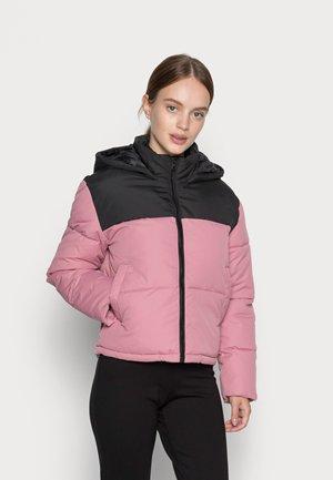 ONLSANDRA SHORT JACKET - Zimní bunda - black/rose