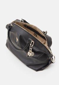 Guess - HANDBAG DESTINY SATCHEL - Handbag - black - 2
