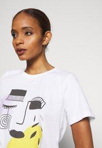 Zign - T-Shirt print - white - 3