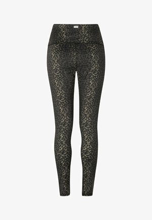 YOGA LEGGINGS LEOPARD CAMO - Leggings - Trousers - leopard camo