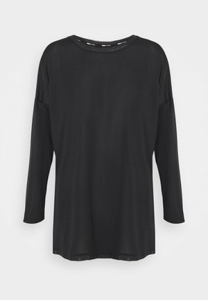 STUDIO GRAPHENE LONG SLEEVE - Long sleeved top - black