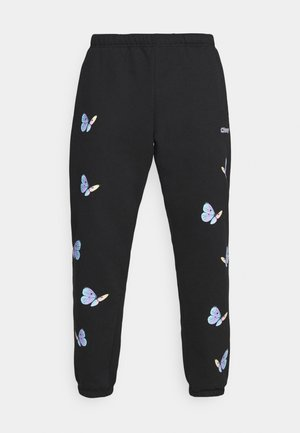 KYOTO - Tracksuit bottoms - black