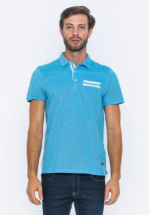 SHORT SLEEVE - Poloshirts - turquoise
