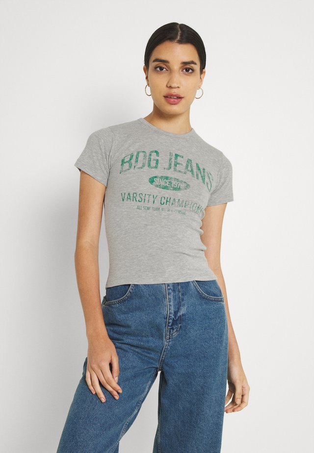JEANS BABY TEE - T-shirts med print - grey