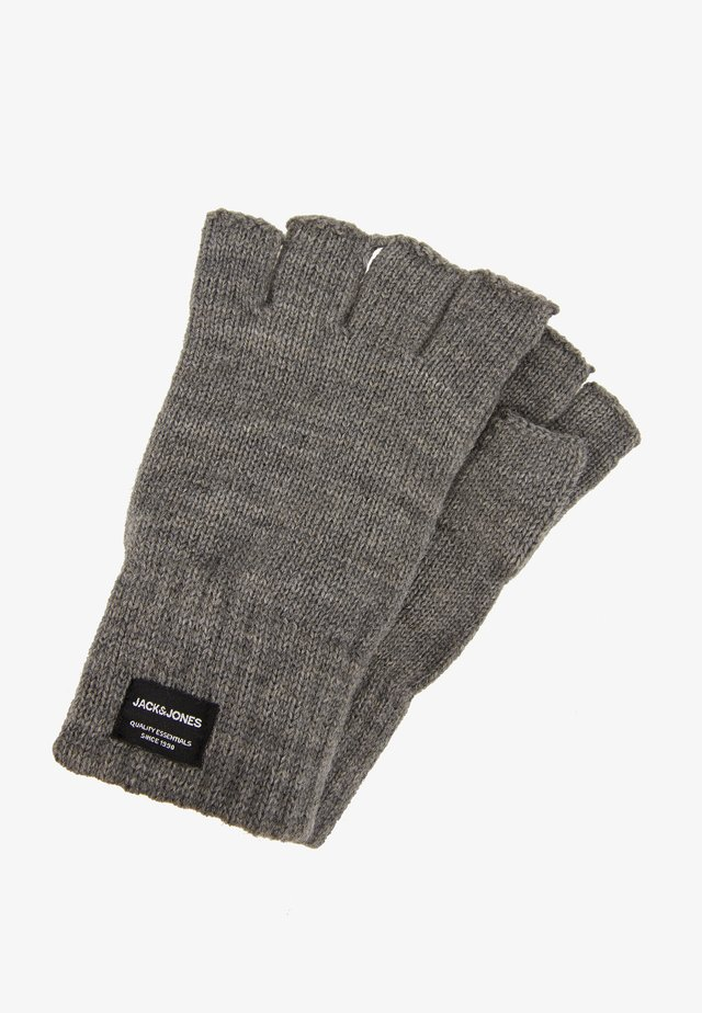 JACHENRY FINGERLESS GLOVES - Fingerless gloves - grey melange