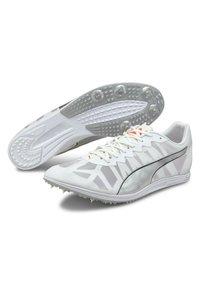 Puma - EVOSPEED - Spikes - white-silver-lava blast - 2