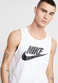 Nike Sportswear - TANK ICON FUTURA - Top - white/black - 3
