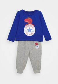 Converse - STAR TEE SET - Pantalones deportivos - blue - 0