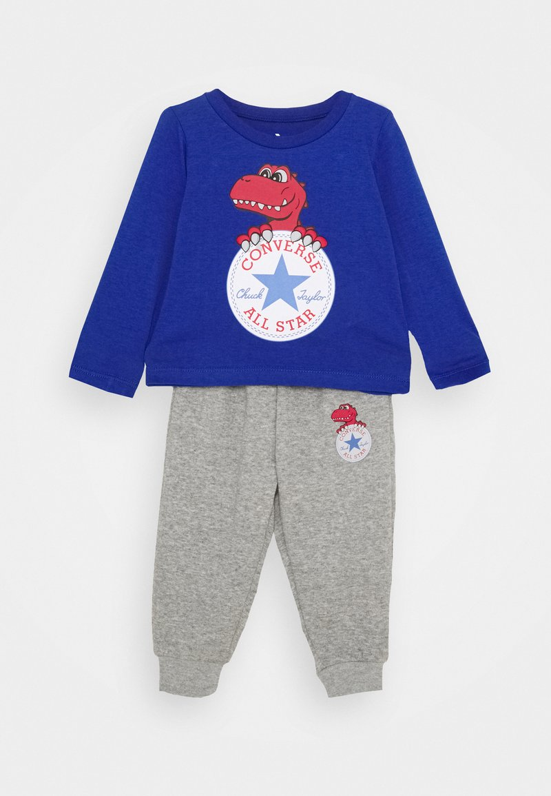 Converse - STAR TEE SET - Pantalones deportivos - blue