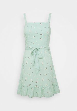 VOL DRIVE BARE DRESS - Sukienka letnia - mint