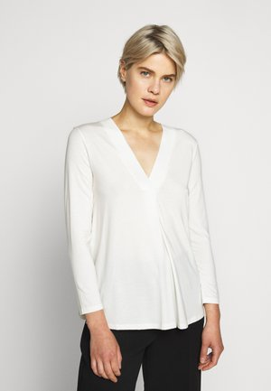 MULTIB - Long sleeved top - weiss