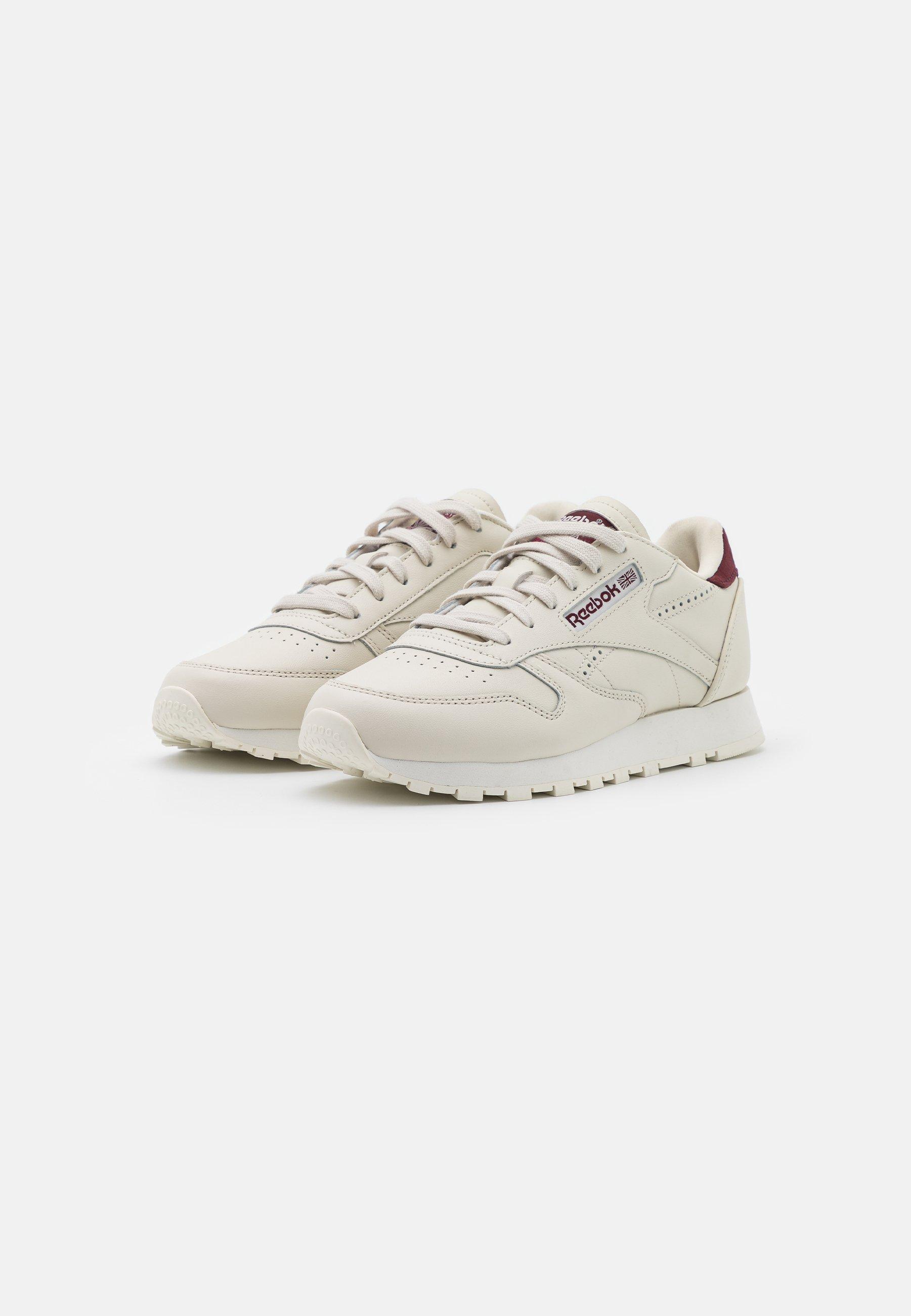 Reebok Classic Sneaker low alabaster/maroon/chalk/grau