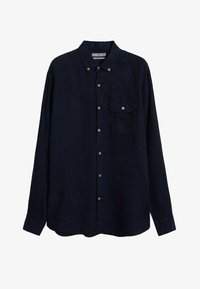 Mango - CALCUTA - Shirt - azul marino oscuro - 5