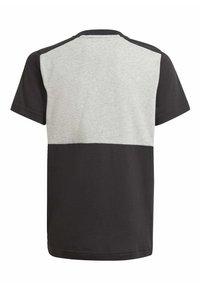 adidas Performance - COLORBLOCK T ESSENTIALS SPORTS REGULAR T-SHIRT - Print T-shirt - grey - 1