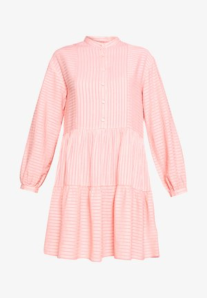 Shirt dress - soft coral