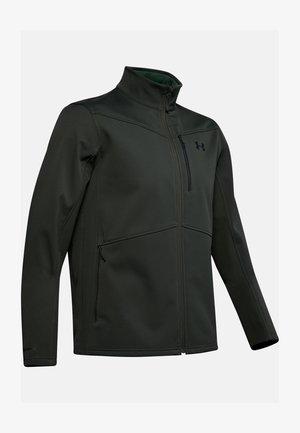 Soft shell jacket - baroque green