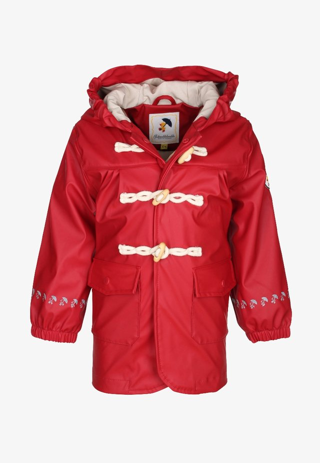 Waterproof jacket - red