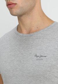 Pepe Jeans - ORIGINAL BASIC - Camiseta básica - gris marl - 4