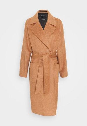 SLFANNELINE COAT - Classic coat - camel melange