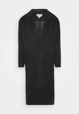 WATSON LONGLINE OVERCOAT - Zimní kabát - black