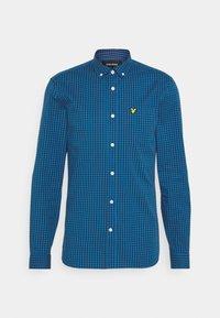 SLIM FIT  - Shirt - yale blue/ navy