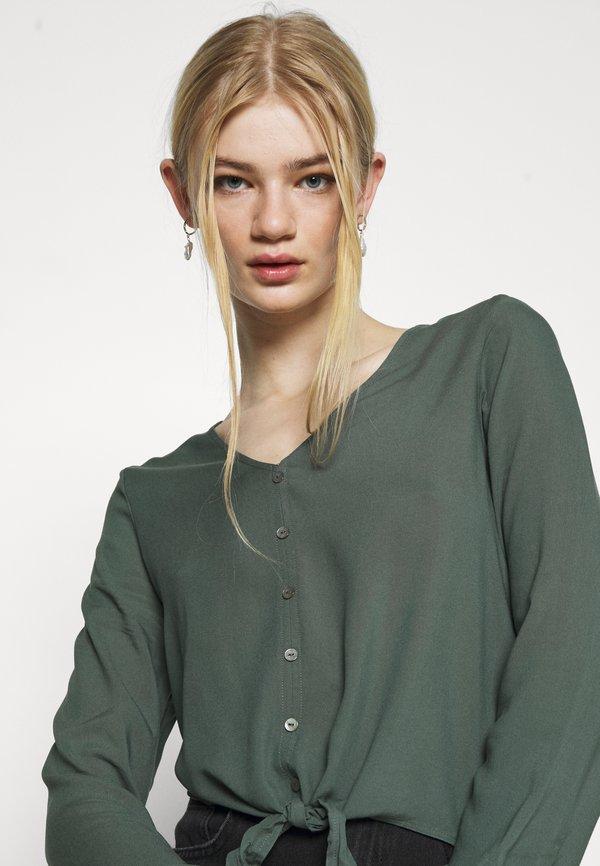 ONLY ONLNINA - Bluzka - balsam green/ciemnozielony YEFD