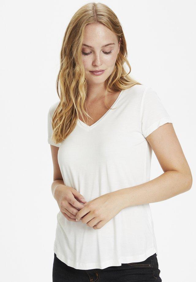 POPPY  - Basic T-shirt - spring gardenia