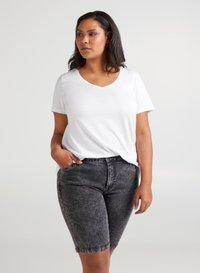Zizzi - Basic T-shirt - white - 0