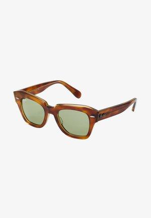 STATE STREET - Sunglasses - transparent/green