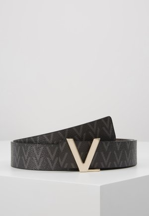 FOX LOGO REVERSIBLE BELT - Pasek - nero/moro
