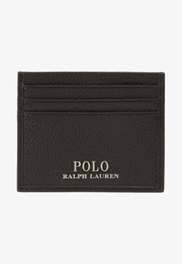 Polo Ralph Lauren - LOGO CARD CASE - Business card holder - dark brown - 1