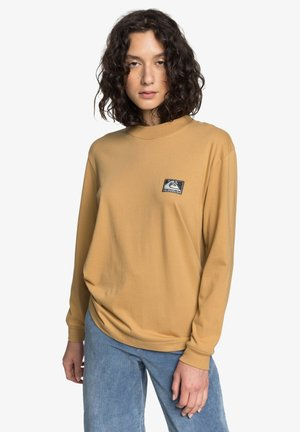 MIT KRAGEN FÜR FRAUEN - Long sleeved top - iced coffee