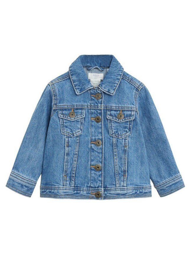 DIEGO - Giacca di jeans - mellemblå
