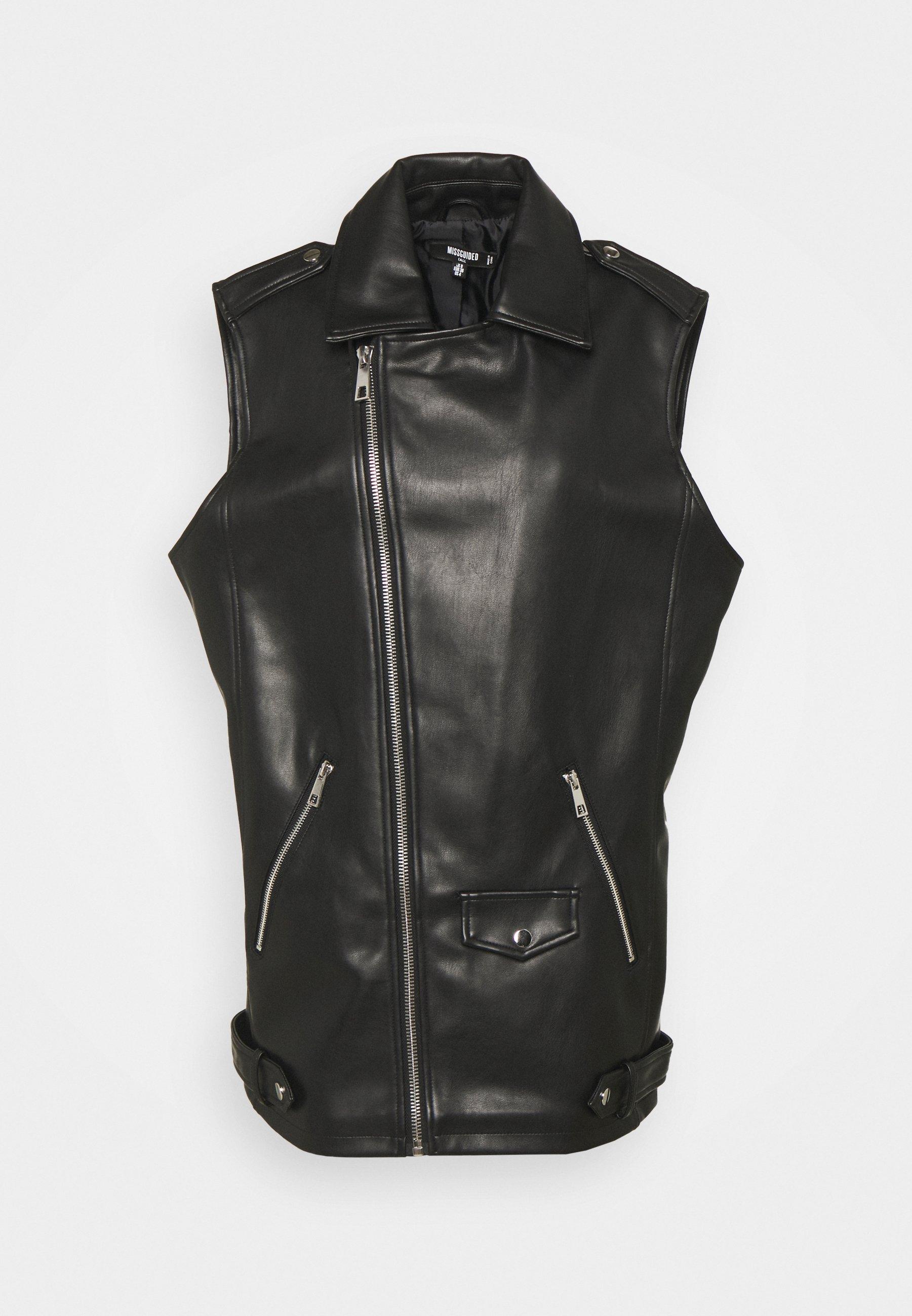 Women BIKER GILET - Waistcoat
