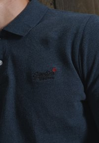 Superdry - Polo - twisted black grit - 1