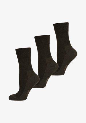 3 PACK - Sokken - schiefer melange