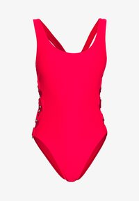 SUMMER RING SIDE MAILLOT - Plavky - chilli