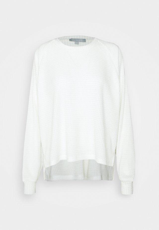 RAGLAN SLEEVE  - Nattøj trøjer - white