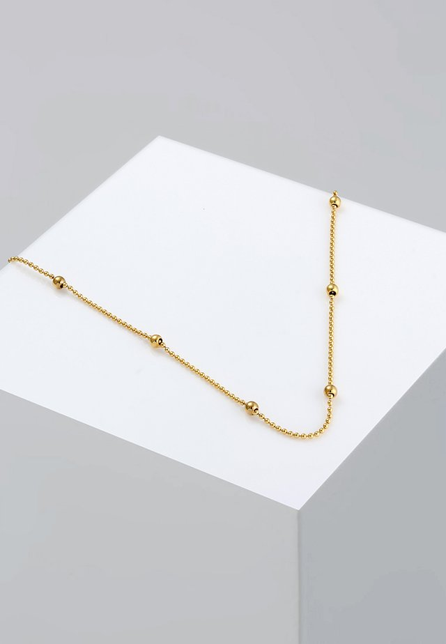 Basic Kugeln - Ketting - gold-coloured