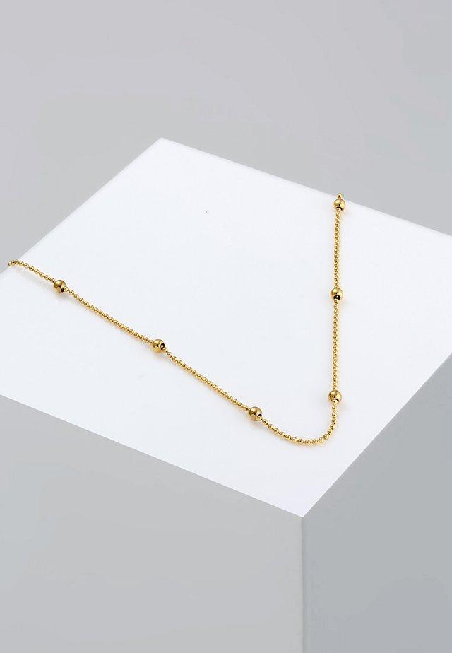 Basic Kugeln - Collana - gold-coloured