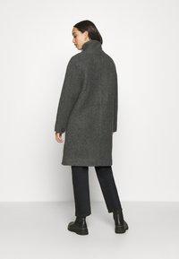 Nümph - NUBRIO JACKET - Zimní kabát - dark shadow - 2