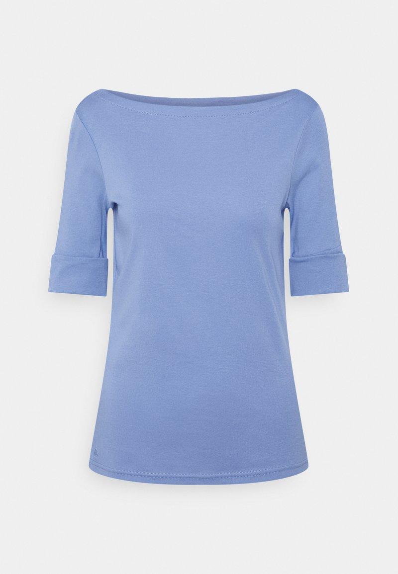 Lauren Ralph Lauren - JUDY ELBOW SLEEVE - Basic T-shirt - cabana blue