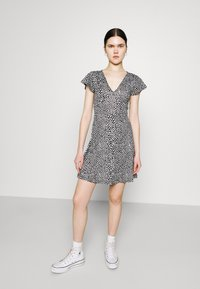 Even&Odd - Jersey dress - black/white - 3