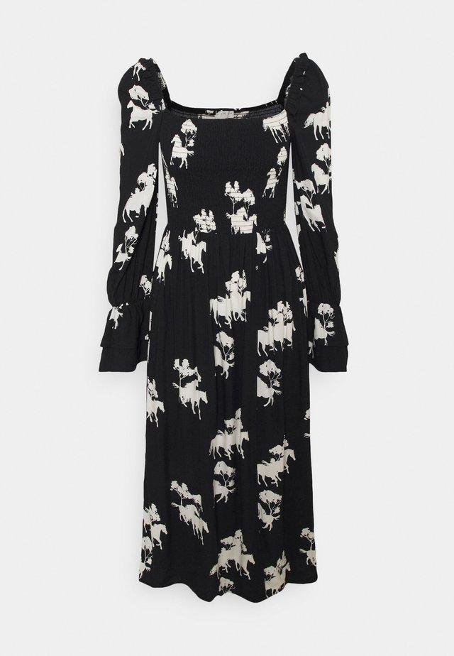 FORREST DRESS - Day dress - black