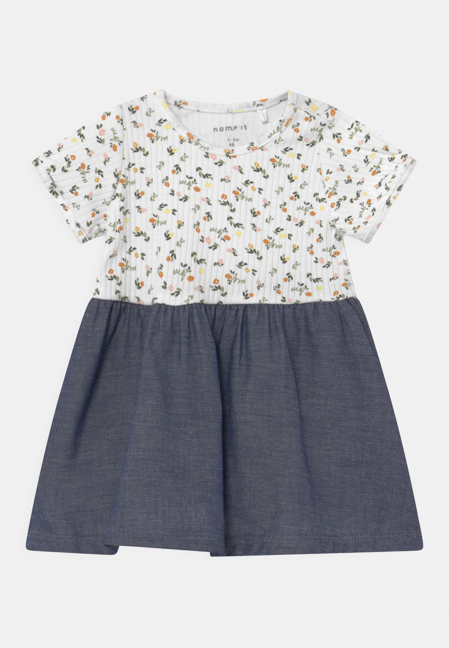 Kids NBFJANICE BLOOMER SET - Jersey dress